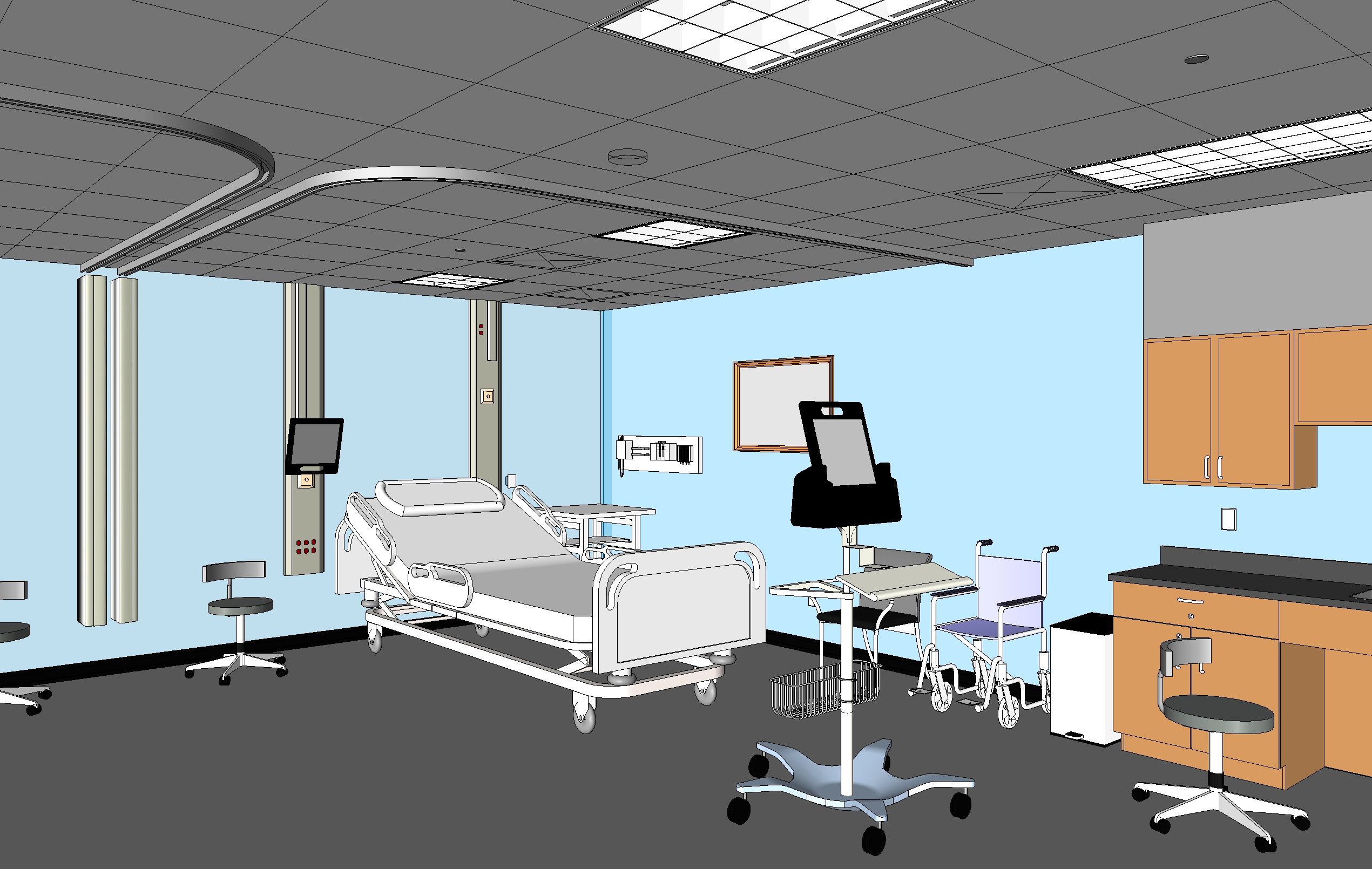 Medical_patient_room_transitional_reed_3d