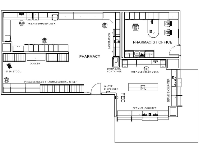Pin Pharmacy Floor Plans On Pinterest