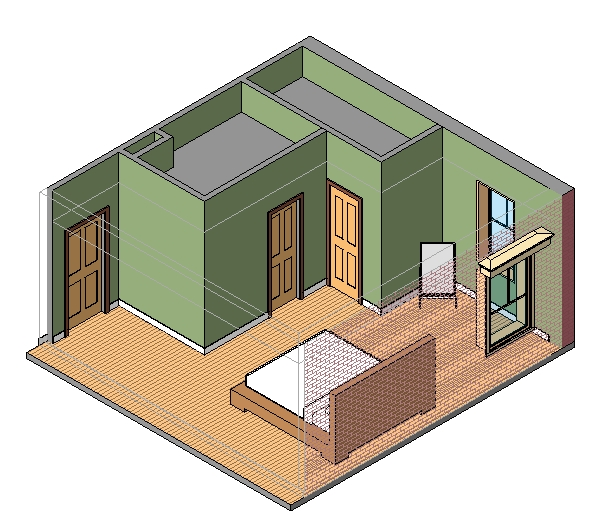 Single-family_bedroom_smartbim-3d