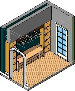 Single-family_mudroom_smartbim-3d